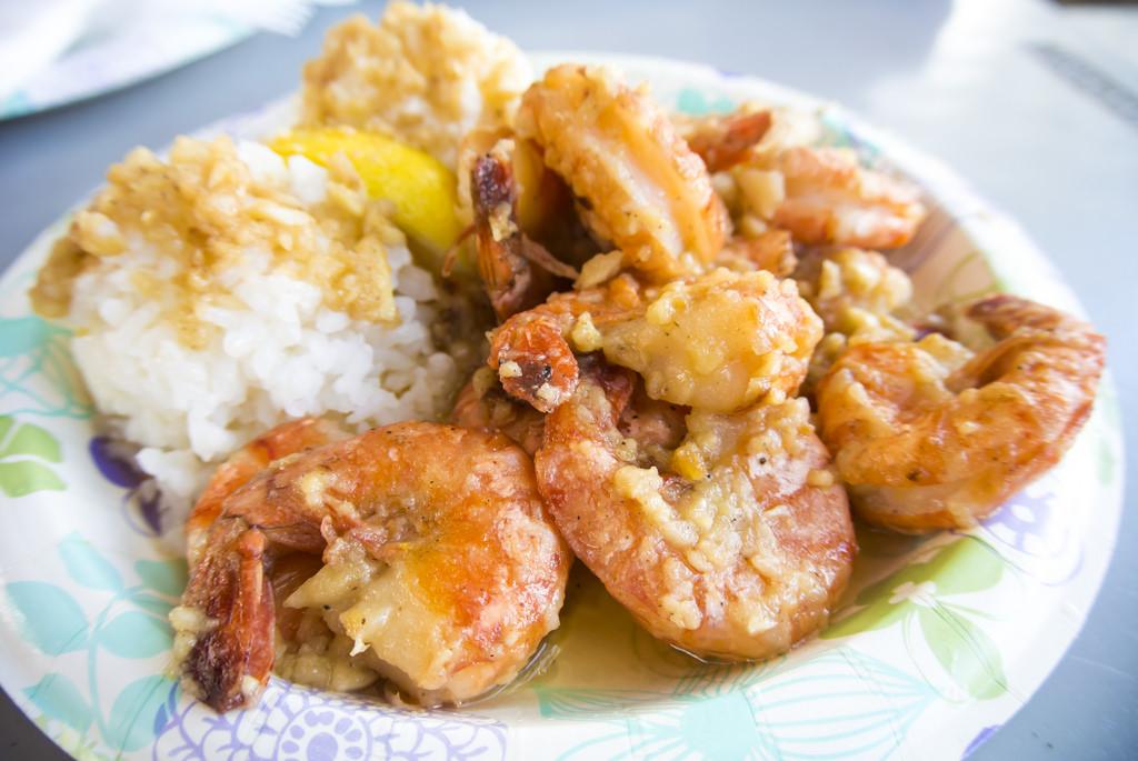 garlic shrimp north shore hawaii