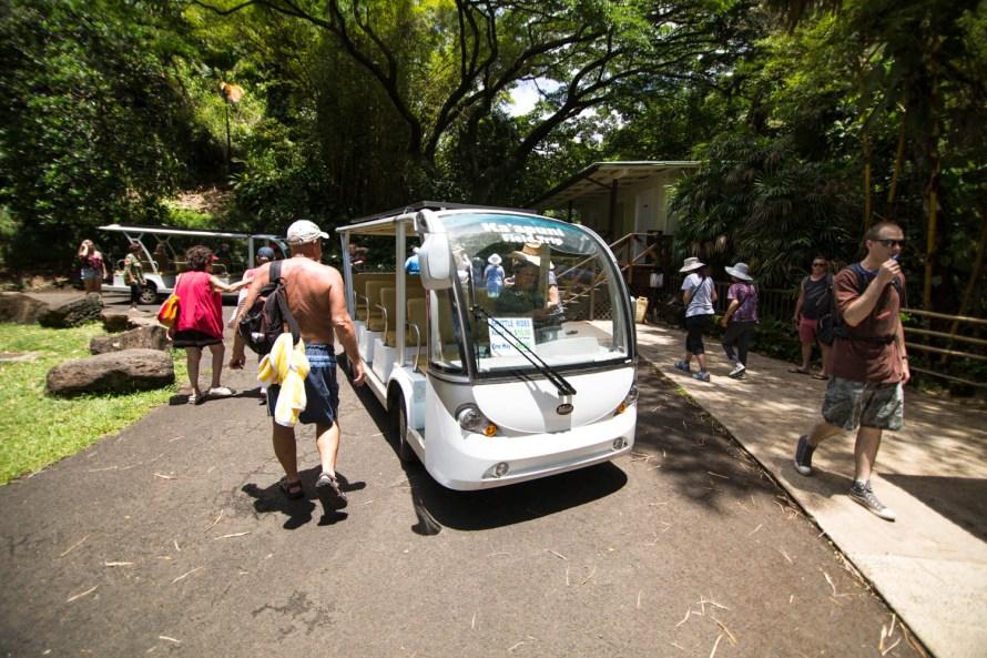 Waimea Falls Shuttle