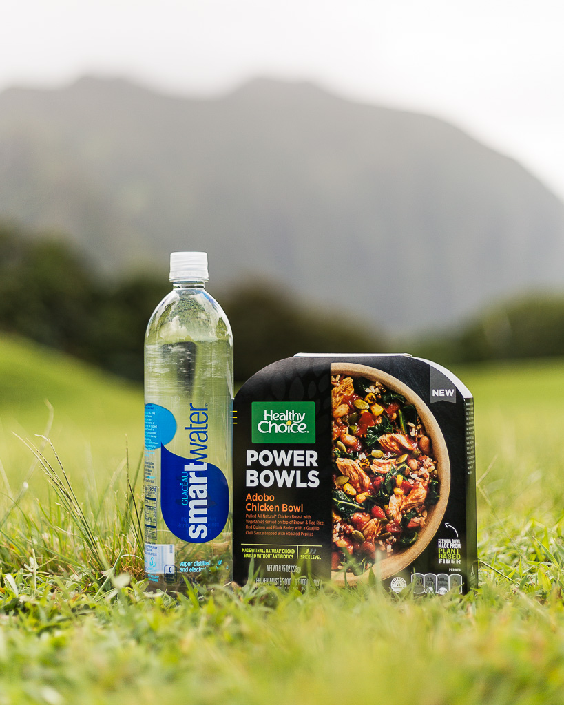 smartwater and healthy choice power bowls