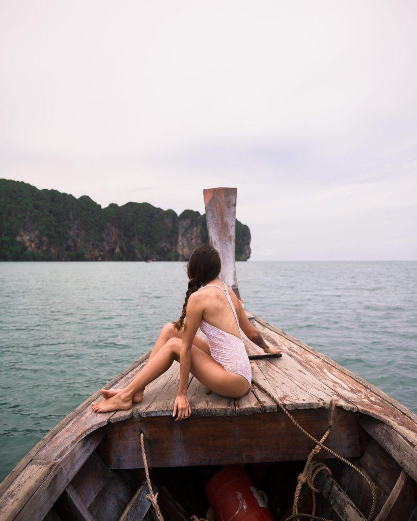 Ao Nang Beach Long Tail Boat