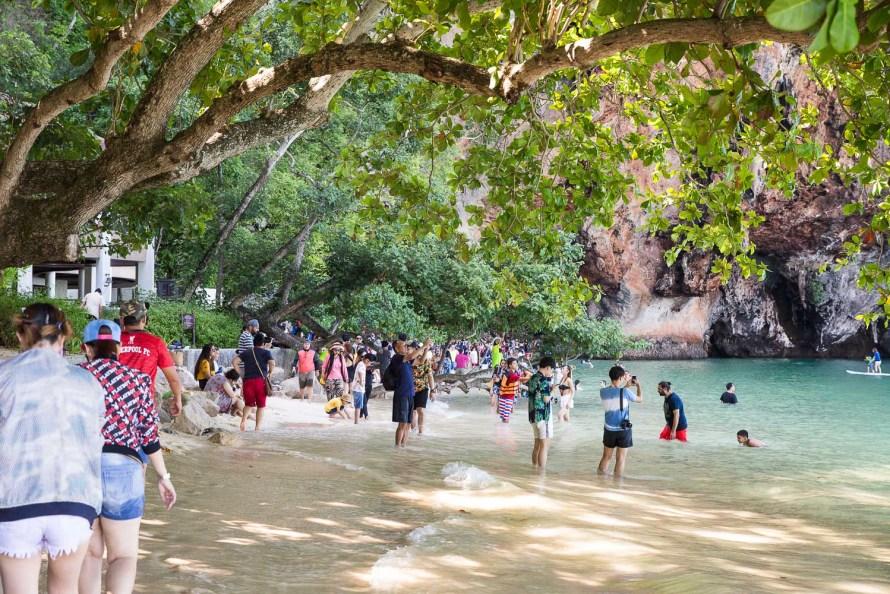 tourists krabi thailand