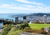 Visiting the relaxed city of Wellington NZ