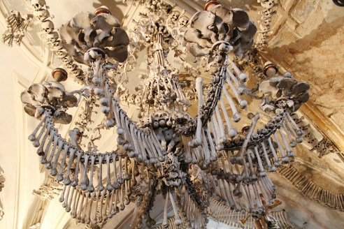 Kutna Hora bone chapel, Czech Republic