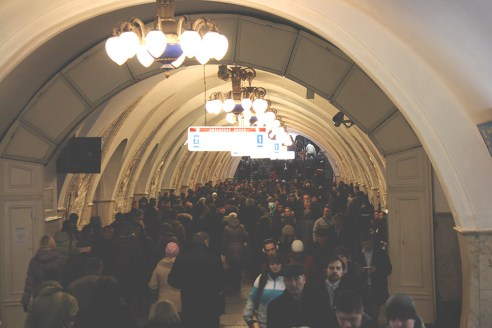 Moscow train station