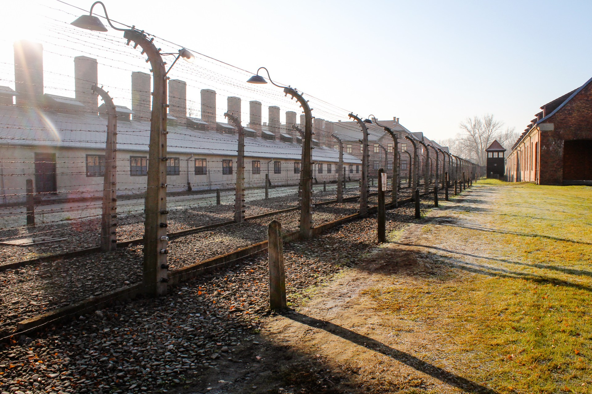 A haunting visit to the Auschwitz death camp