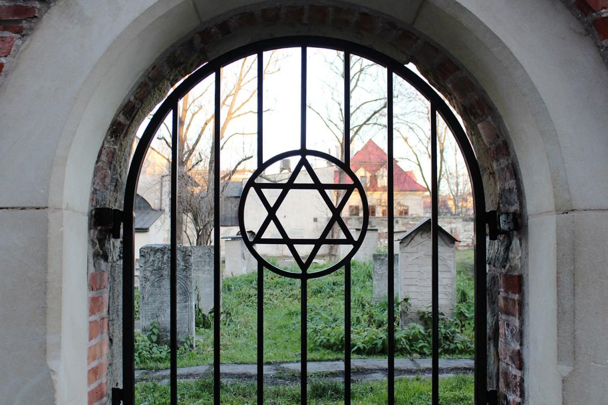 Jewish cemetery in Krakow