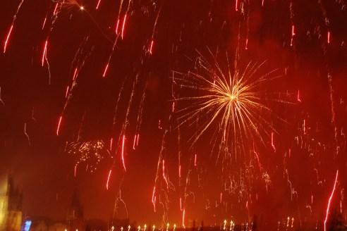 New Year in Prague, Czech Republic