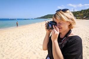 Mirrorless camera photography at Tangalooma, Australia