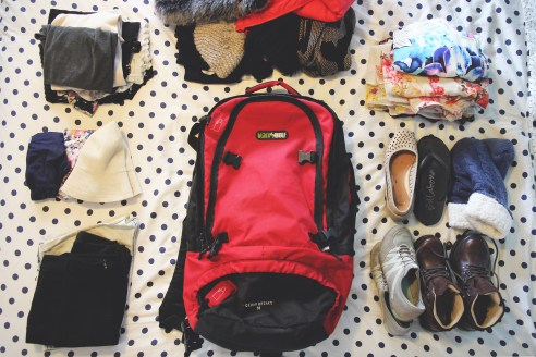 How to squeeze your entire life into a backpack