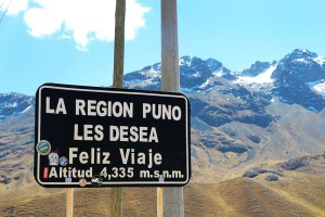 A high pass on the drive from Puno to Cusco