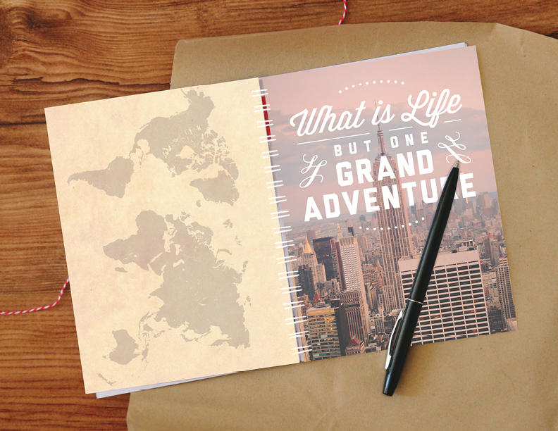 Printable Travel Journal