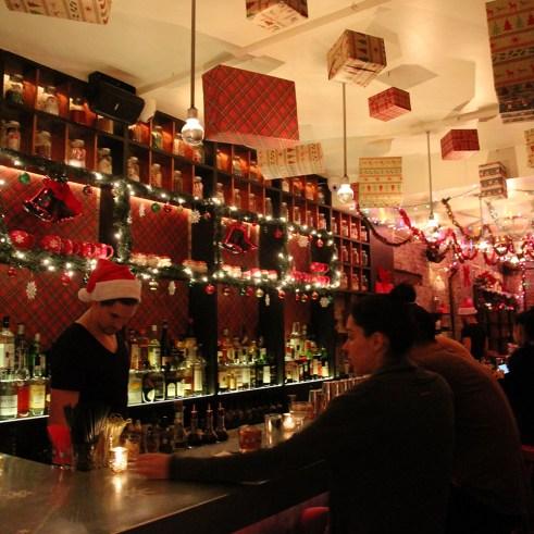 Christmas Bar in New York City