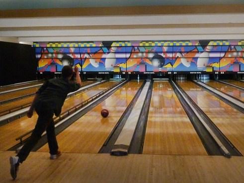 Candlepin Bowling at Boston Bowl