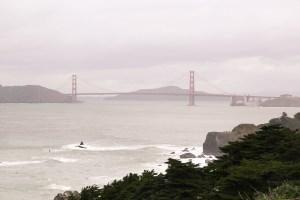 Golden Gate Bridge from Lands End, San Francisco