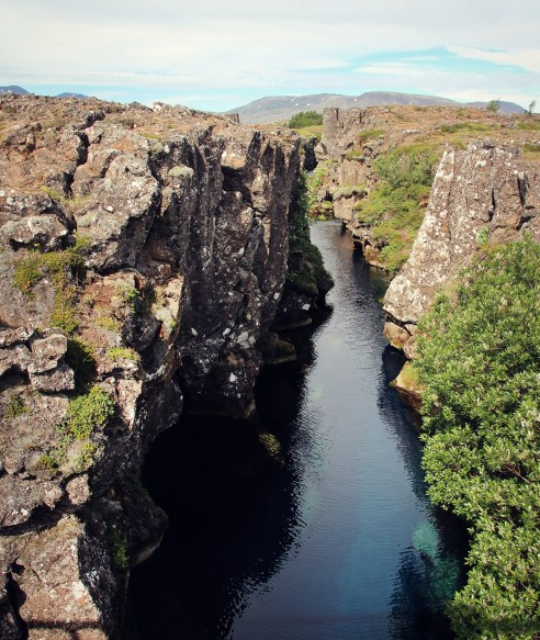 Experiences in Iceland: Tectonic plates
