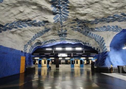 Stockholm Subway Central Station