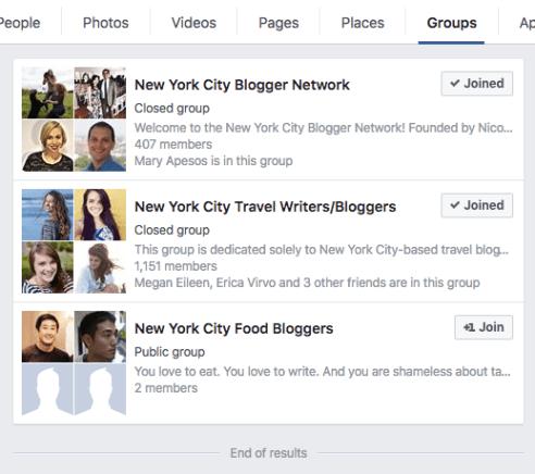 market yourself as a freelancer through Facebook groups