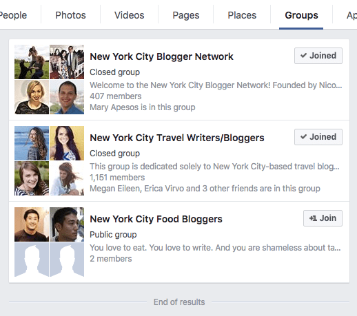 Market yourself as a freelancer through Facebook groups