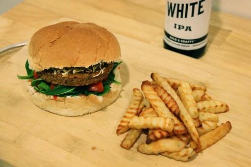 NYC veggie burger