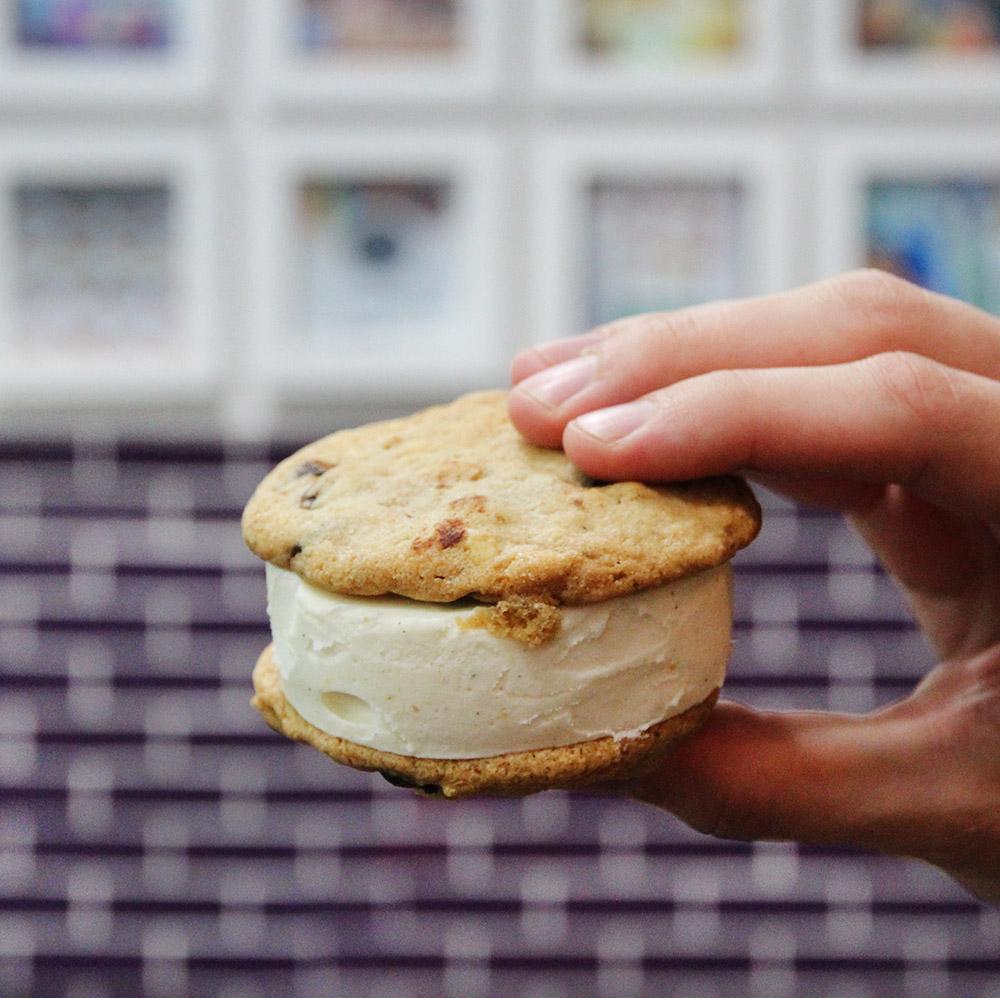NYC ice cream sandwich