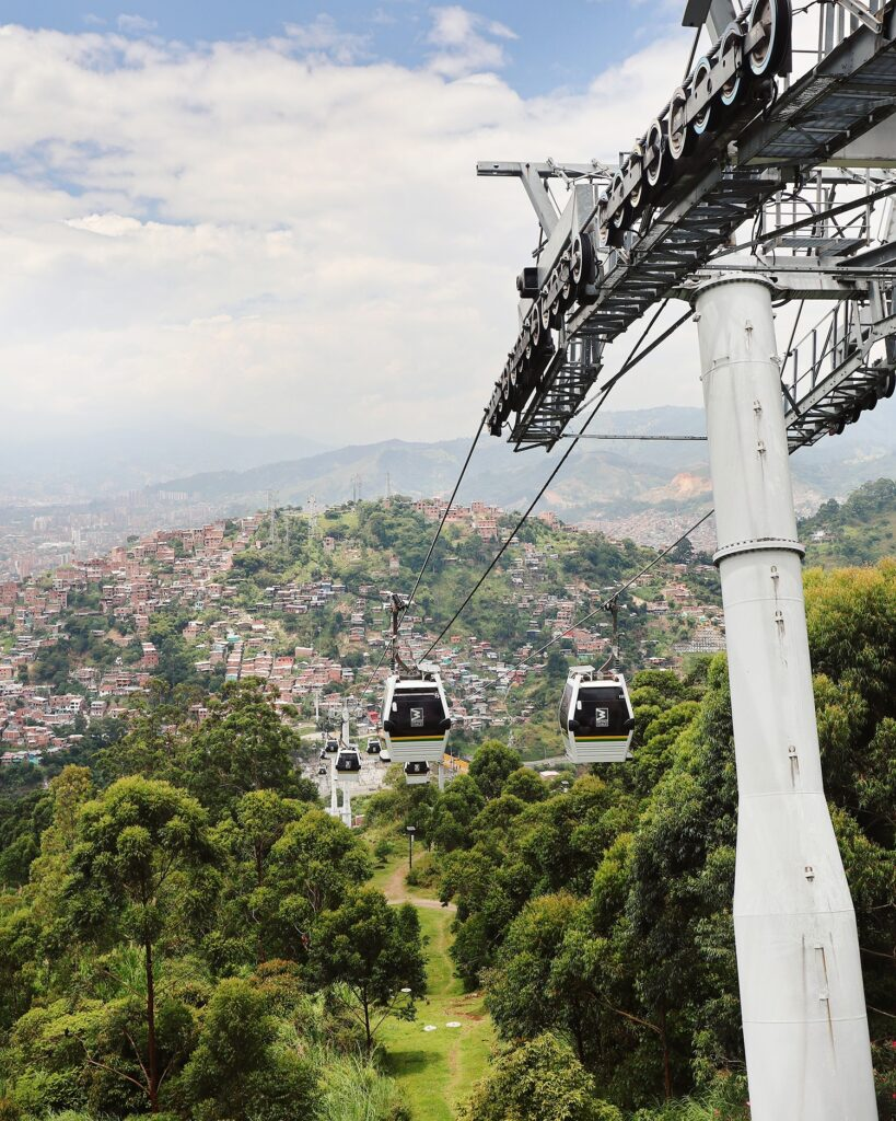 Cable cars, Medellin