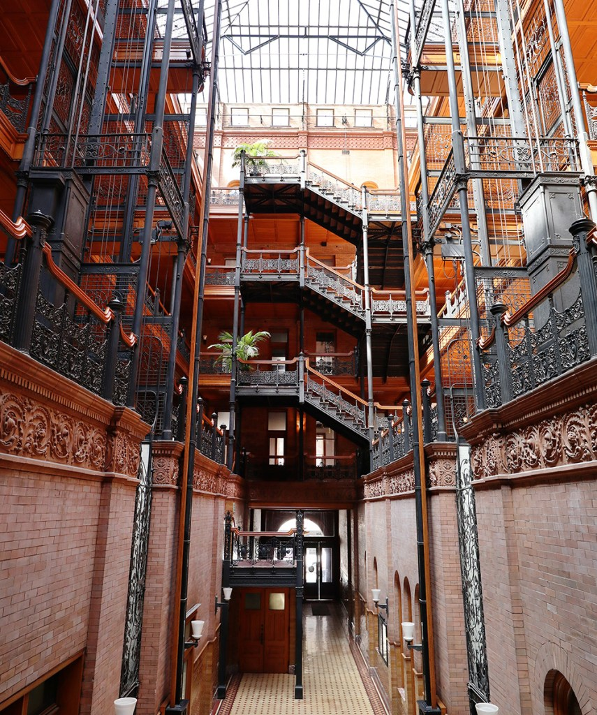 The Bradbury Building, Los Angeles