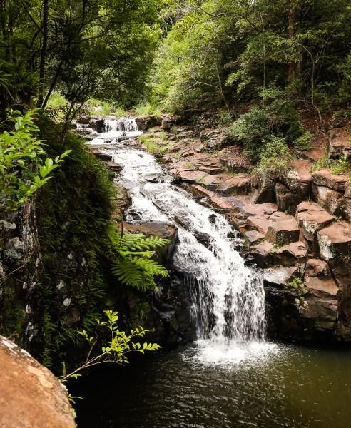 Waterfall, Ballina, NSW Australia