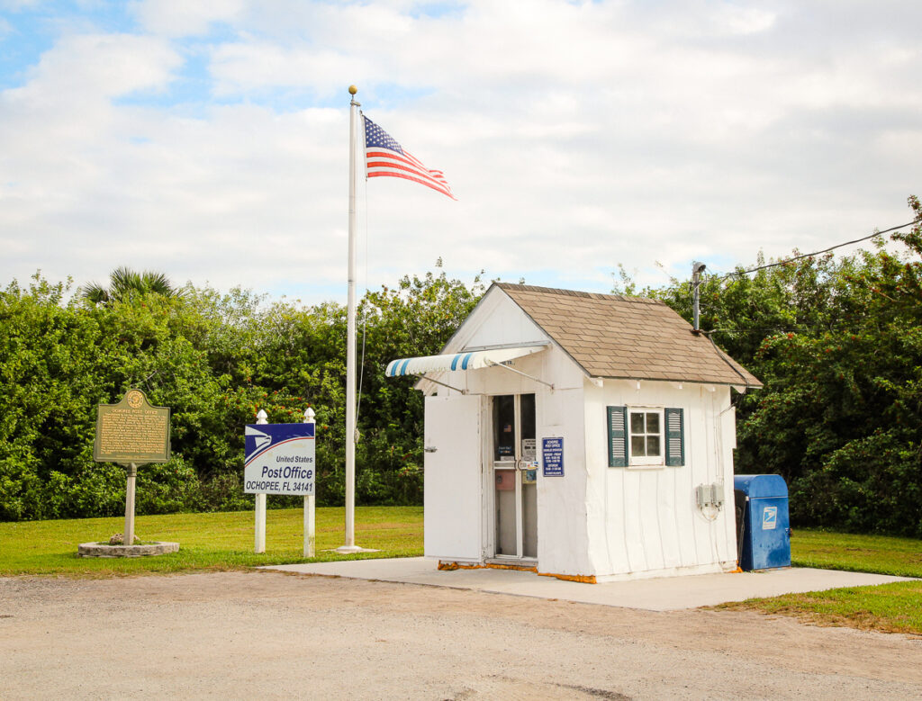 Smallest post office in the US, Everglades National Park