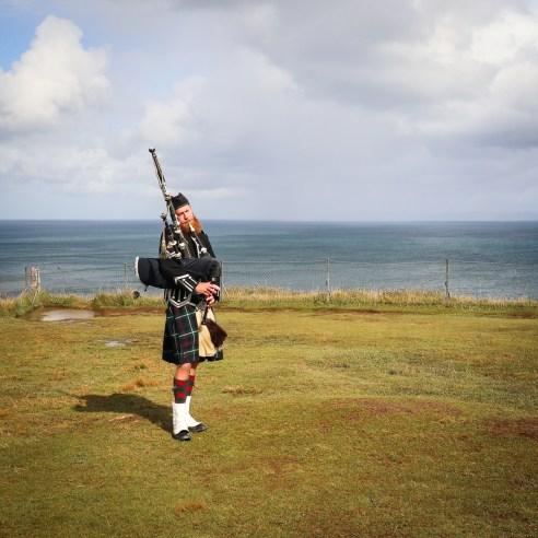Busker, Isle of Skye, Scotland