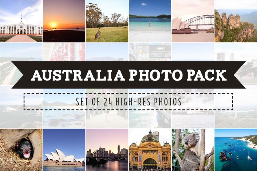 Australia Photo Pack