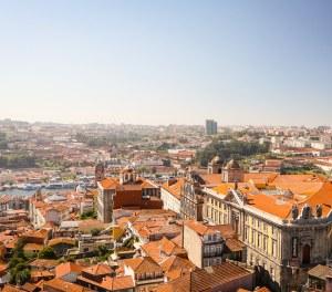 Clérigos Church Tower views, Porto, Portugal