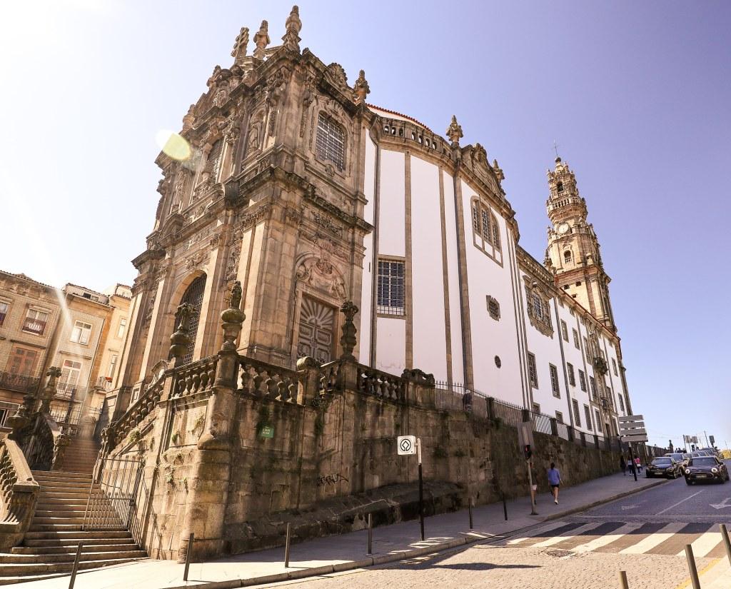 Clérigos Church in Porto, Portugal