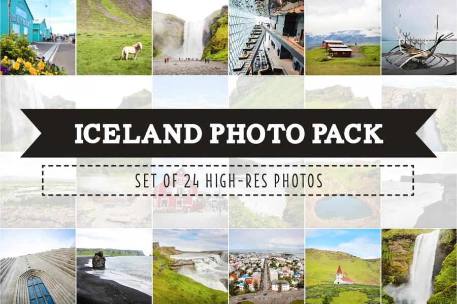 Iceland Photo Pack