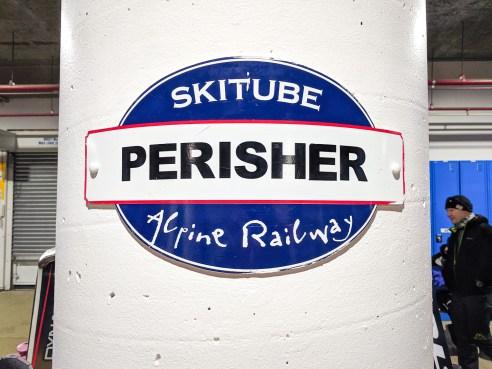 Perisher Skitube alpine railway, NSW, Australia