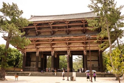 Nandaimon Gate of Todaiji, Nara, Japan