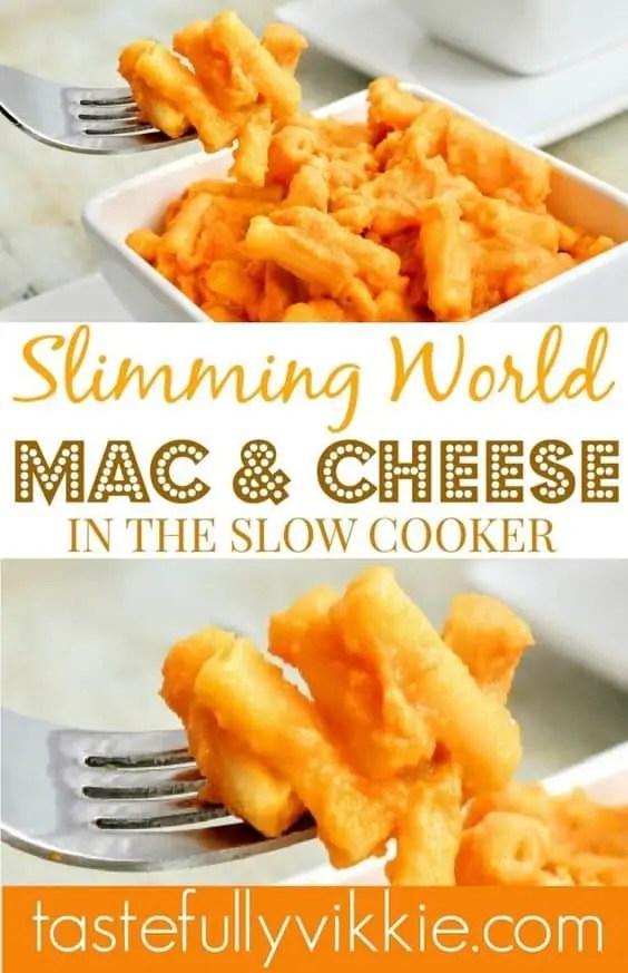 Slimming World Slow Cooker Macaroni Cheese
