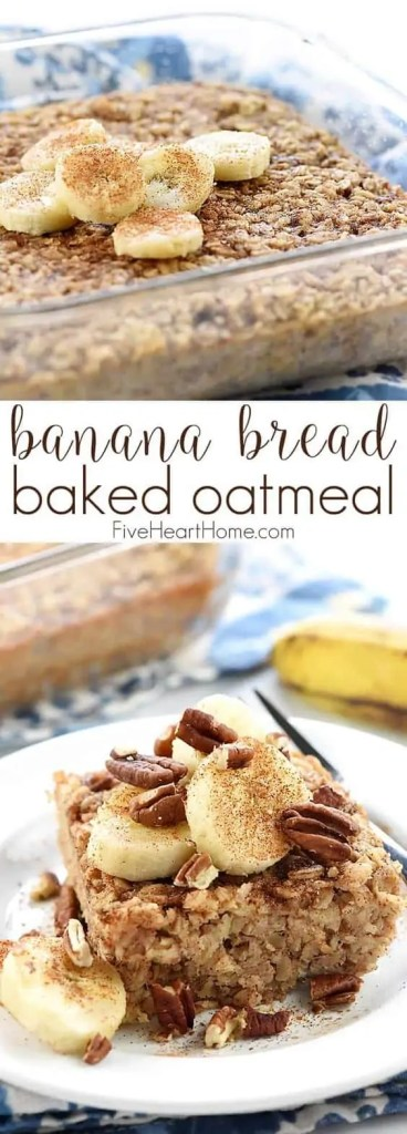 Brunch Banana Bread Baked Oatmeal