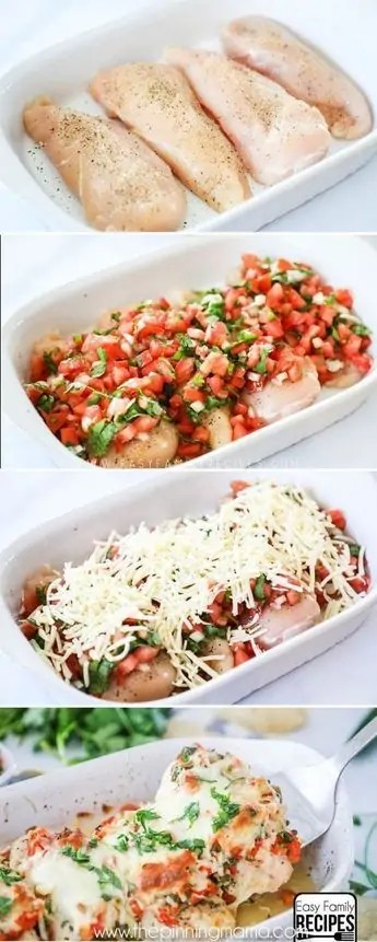 Salsa fresco chicken healthy dinner