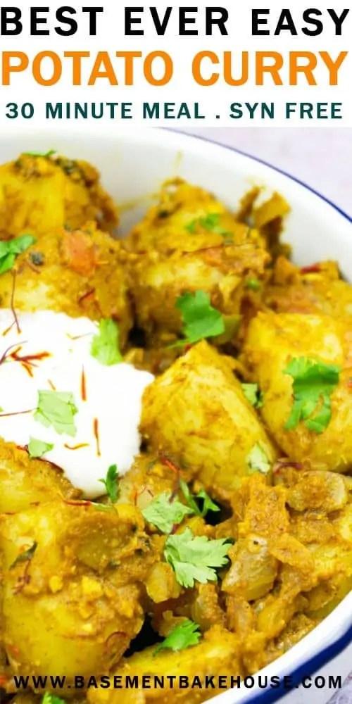 Slimming World Easy Potato Curry