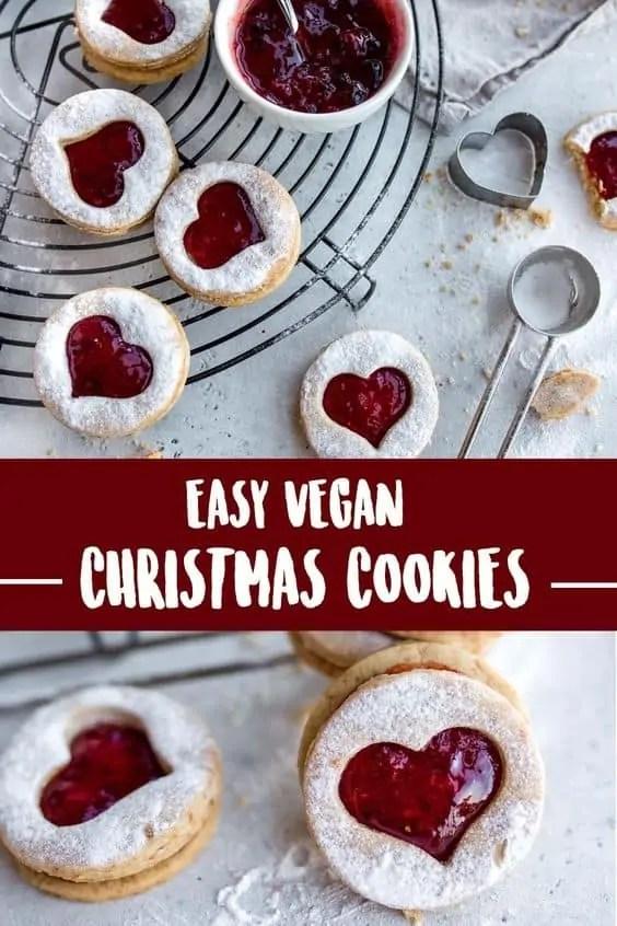 Easy Vegan Christmas Cookies
