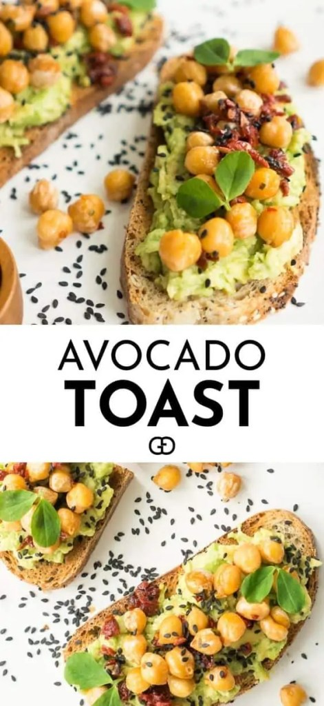 Simple Brunch Vegan Avocado Toast