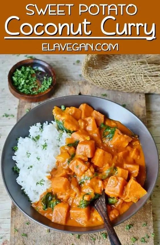 Vegan Sweet Potato Coconut Curry