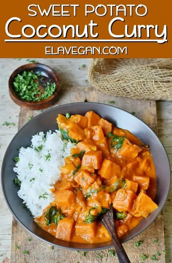 Vegan Sweet Potato Coconut Curry