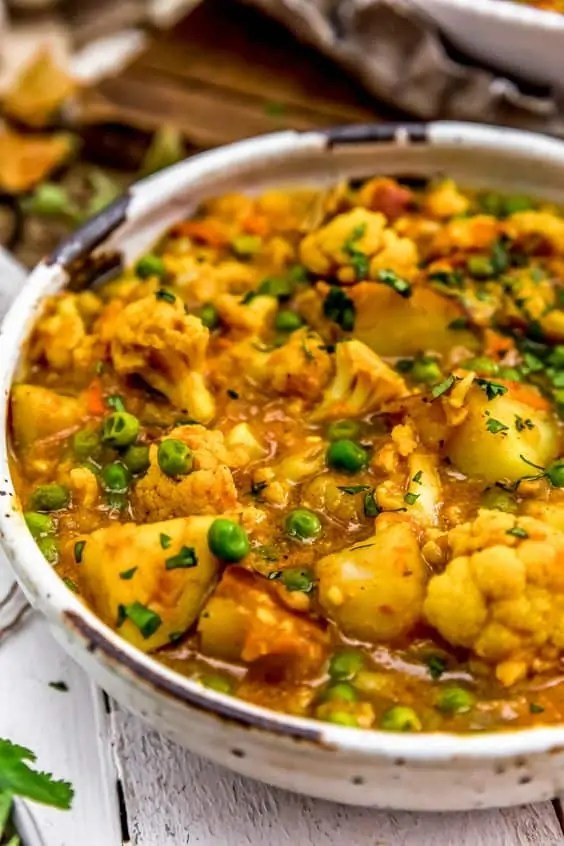 Vegan Cauliflower Potato Curry