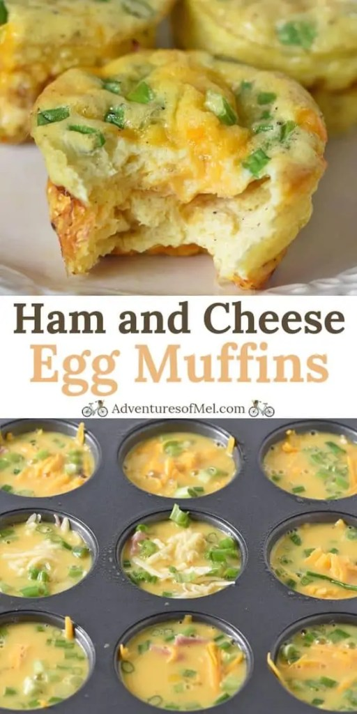 Ham and Cheese Egg Muffins