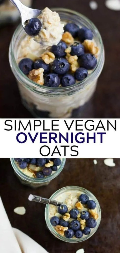 Simple Vegan Overnight Oats