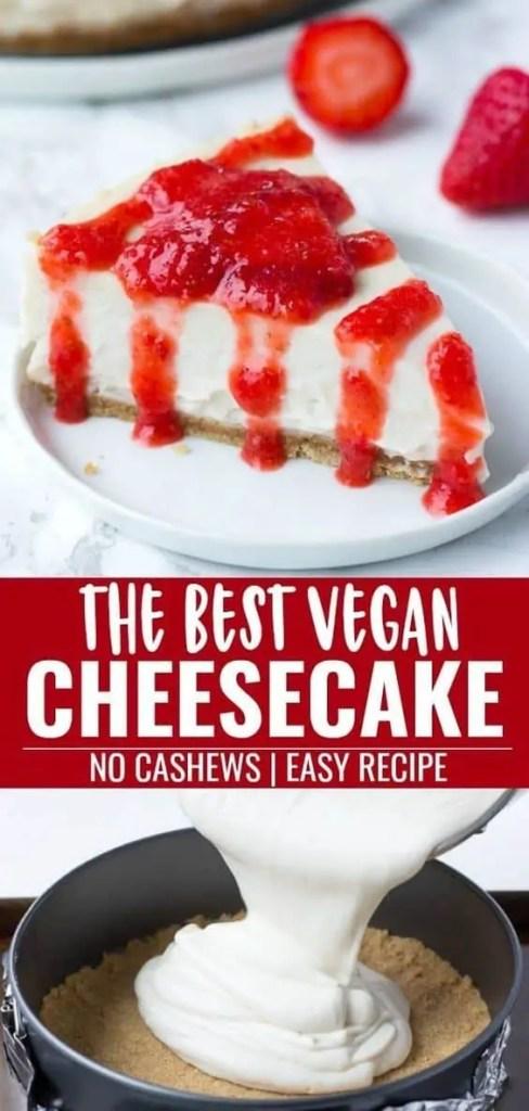 The Best Vegan Cheesecake