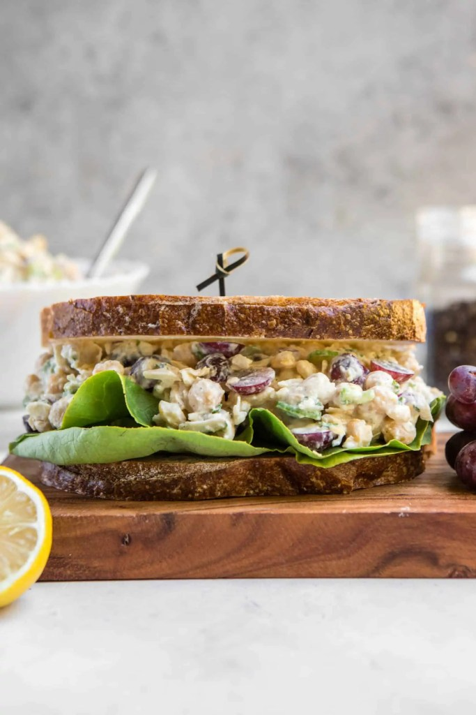 Chickpea Salad Sandwich