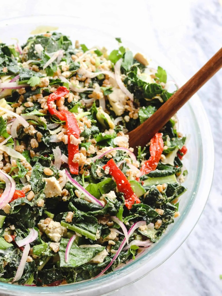 Greek-Inspired Kale Salad