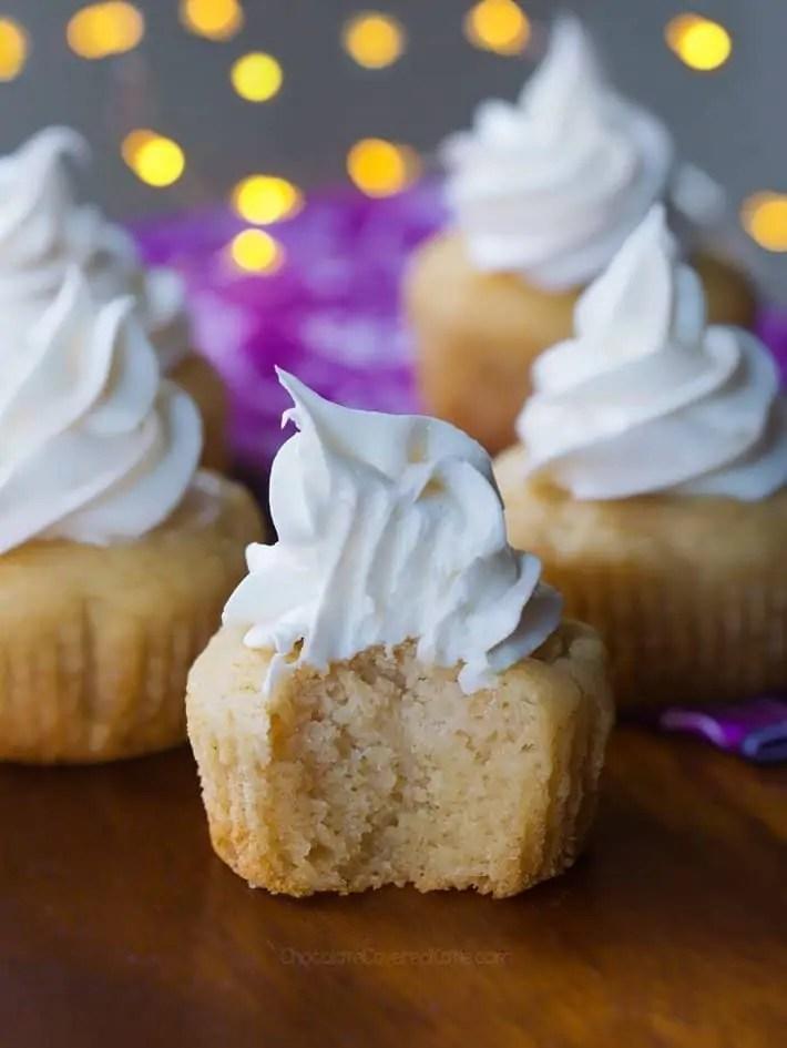 Vegan Vanilla Cupcakes